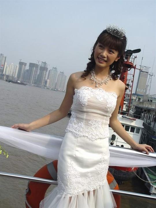 台湾偶像剧美女林韦君 水灵灵的大美女