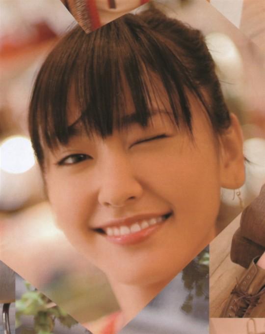新垣结衣荣登纯情女生排行榜首位 生活照放送