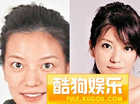 章子怡赵薇素颜在韩掀争论