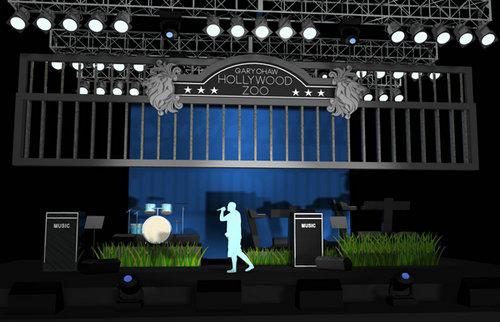 动物园搬上舞台