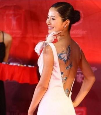 张柏芝王菲蔡依林大小s 女星私处的纹身诱惑无限