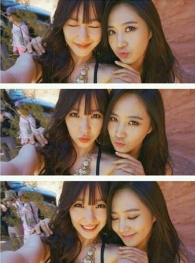 韩国女生组合少女时代成员yuri更新自己的